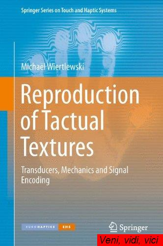 Reproduction of Tactual Textures Transducers Mechanics and Signal Encoding