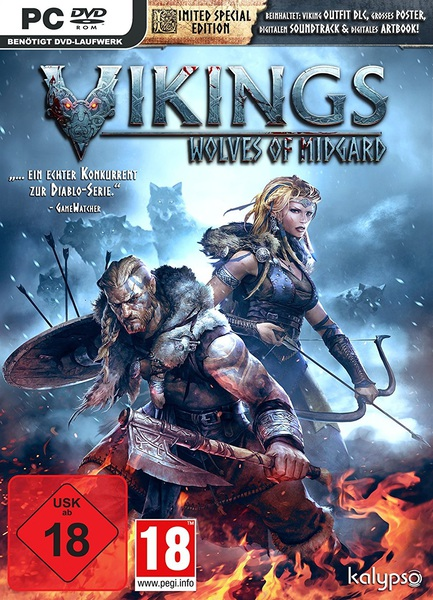 Vikings Wolves of Midgard Limited Special Edition MULTi8 – x.X.RIDDICK.X.x
