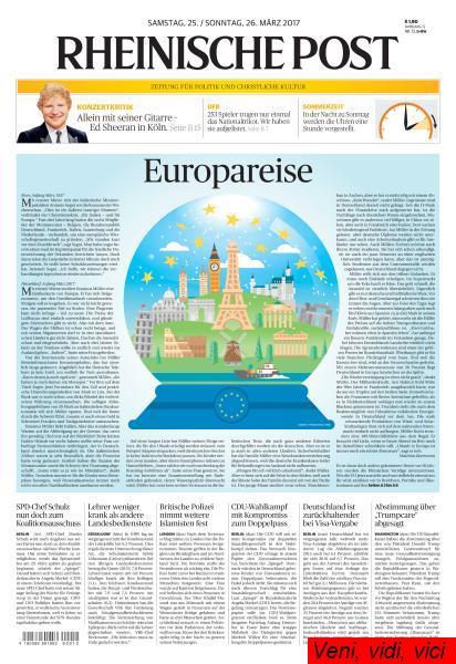 Rheinische Post 25 26 Maerz 2017