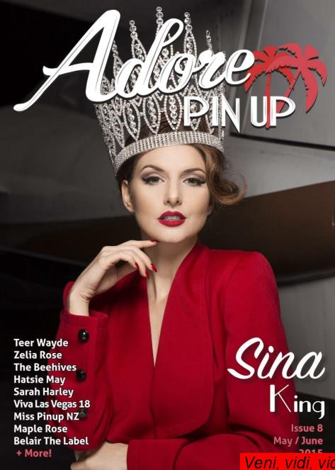 Adore Pin Up Magazine May June 2015