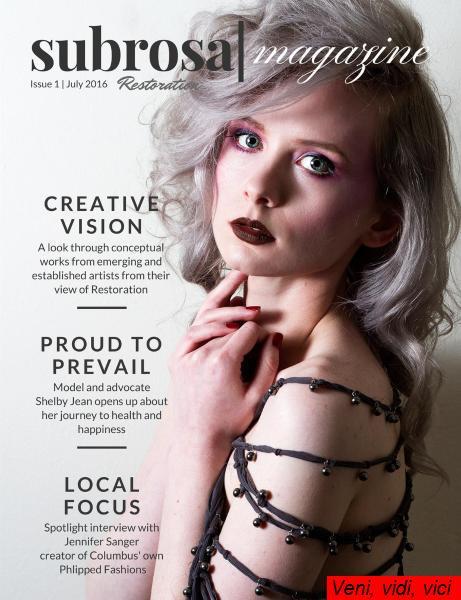 Subrosa Magazine Issue 1 July 2016