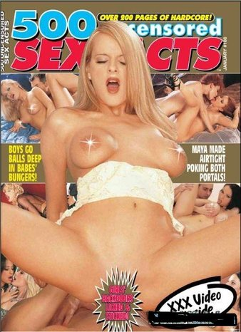 500 Uncensored Sex Acts January 2008 Cover