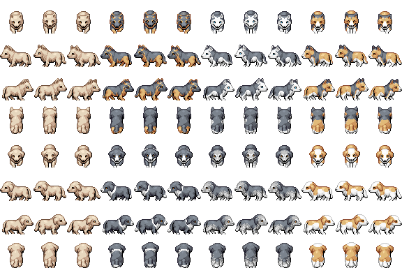 100+ Dog Sprite Sheet – yasminroohi
