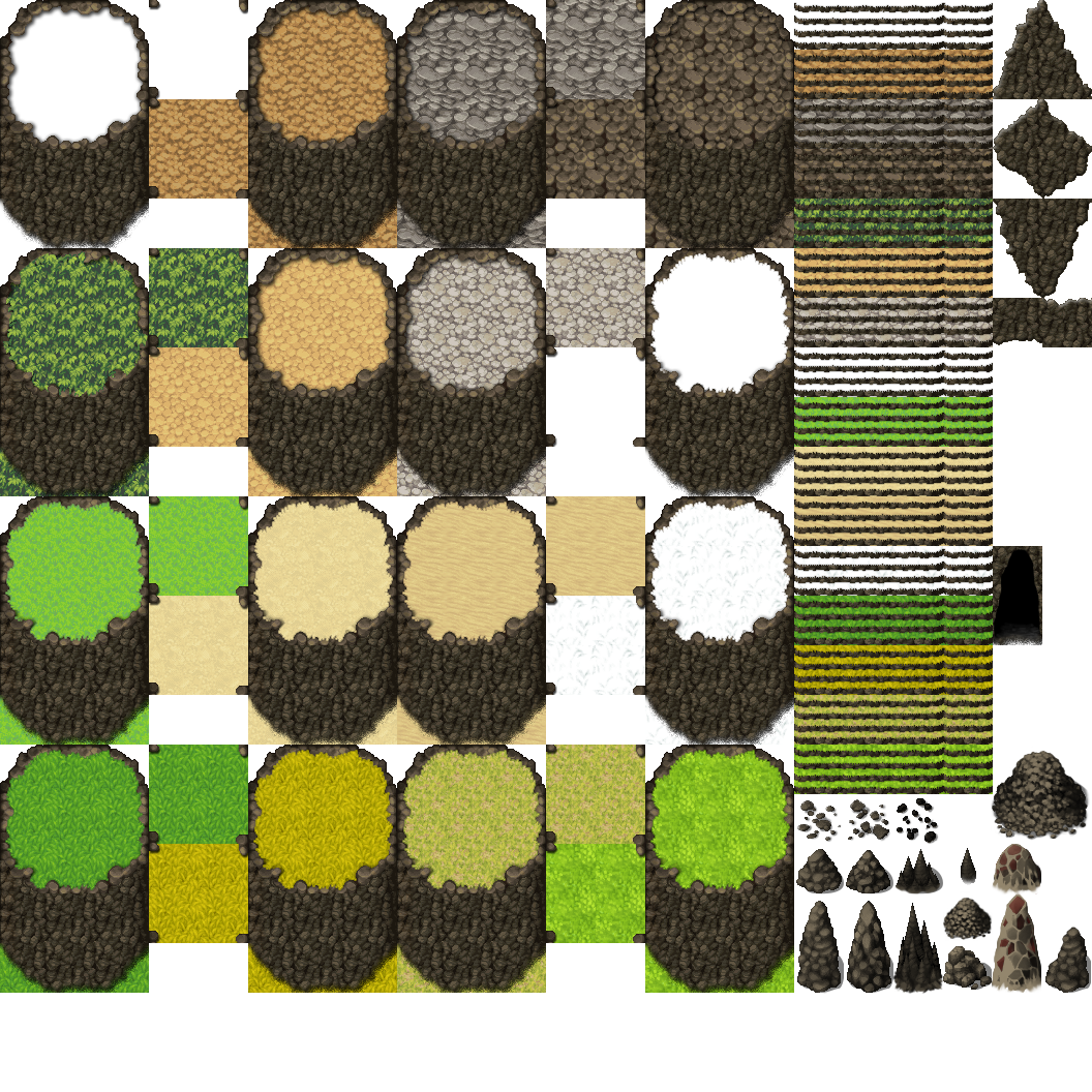 Grass Tile Set Rpg Maker – Jerusalem House