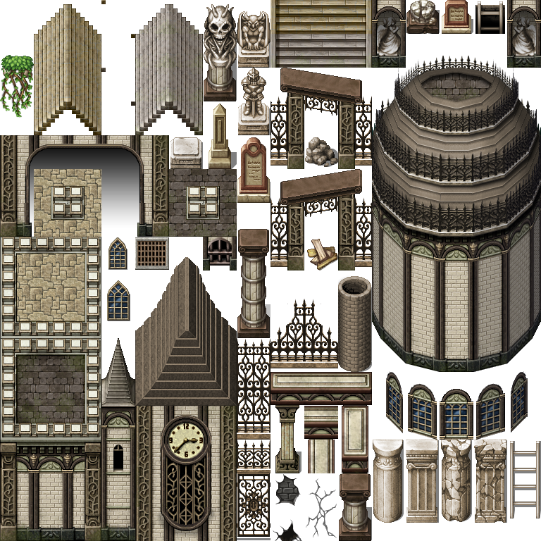 Voluspa Tiles (tiles, supporting characters etc ) | RPG Maker Forums