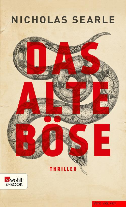 Nicholas Searle Das alte Boese