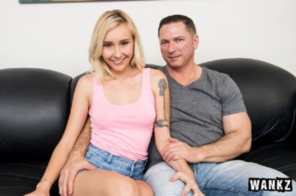 Peyton Coast - Cock-Hungry Teen Peyton Coast s Casting Couch Porn (720) Cover