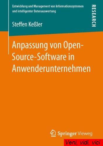 Anpassung Von Open Source Software In Anwenderunternehmen