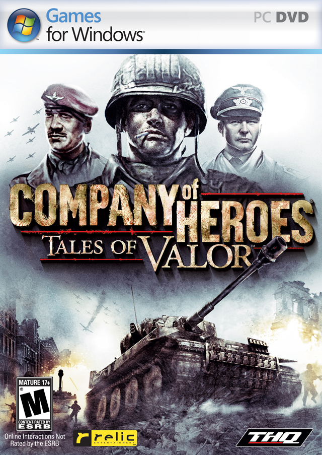 Company of Heroes: Tales of Valor Deutsche  Texte, Untertitel, Menüs Cover