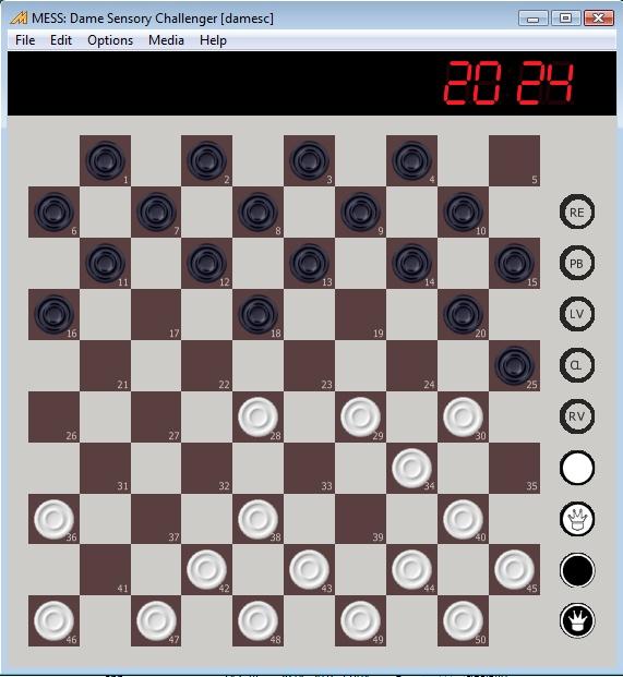 dame versus schach