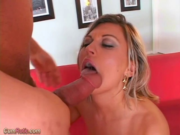 Blonde has mouth drooling (480)