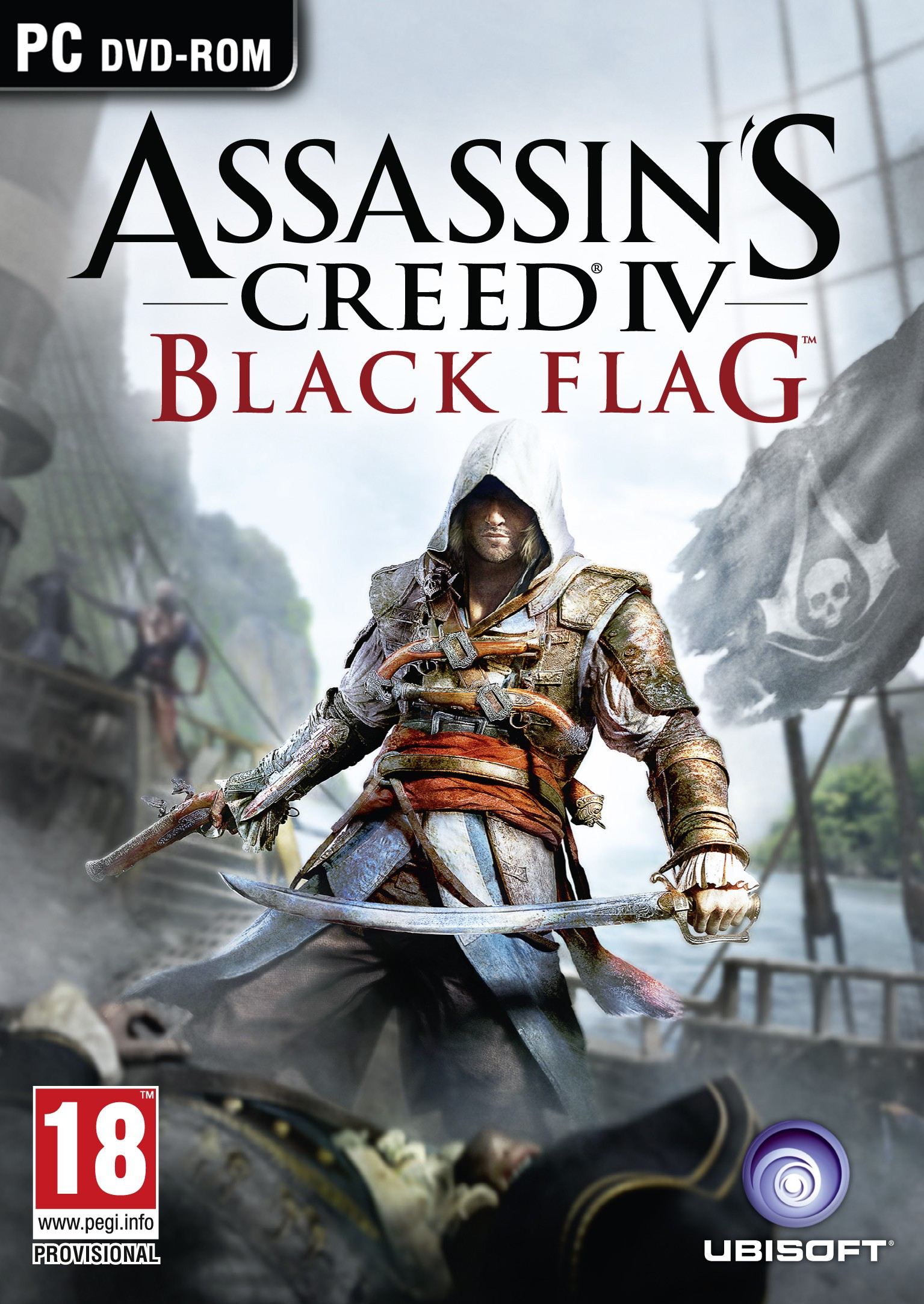Assassins Creed 4 - Black Flag Deutsche  Texte, Untertitel, Menüs, Videos, Stimmen / Sprachausgabe Cover