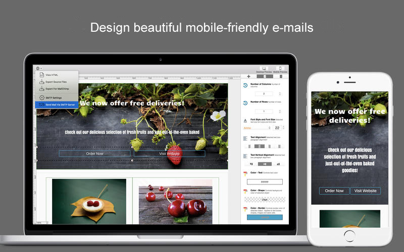 Dragon Responsive E mail Designer V2 49 Macos