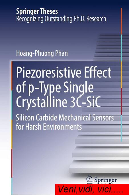Piezoresistive Effect of p Type Single Crystalline 3C SiC Silicon Carbide M