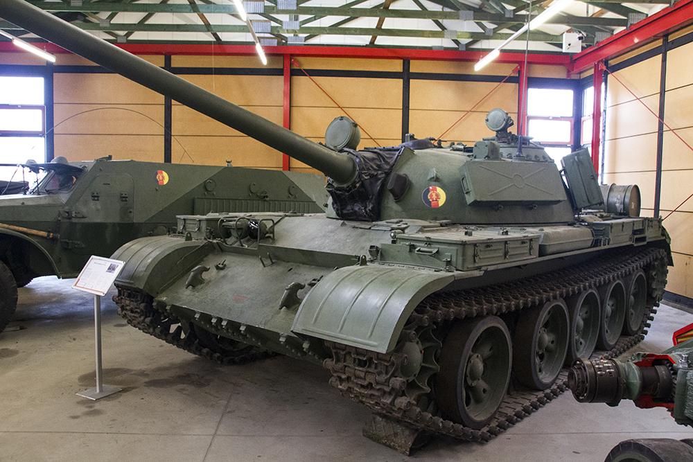 Средний танк T 55A , характеристики и описание
