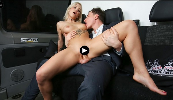 Kathi Rocks - Hot German blondie Kathi Rocks gets pussy and a...