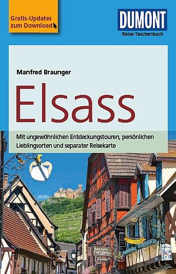 Dumont - Reise-Taschenbuch - Elsass