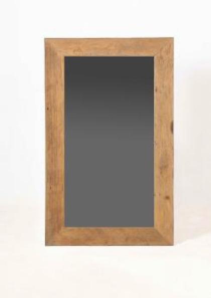 Spiegel borneo 60x120 cm wandspiegel flurspiegel teak for Spiegel 60x120