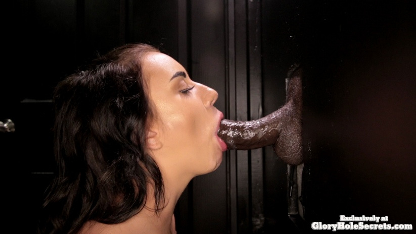 Brooke - Brookes First Gloryhole Video (1080p) Cover
