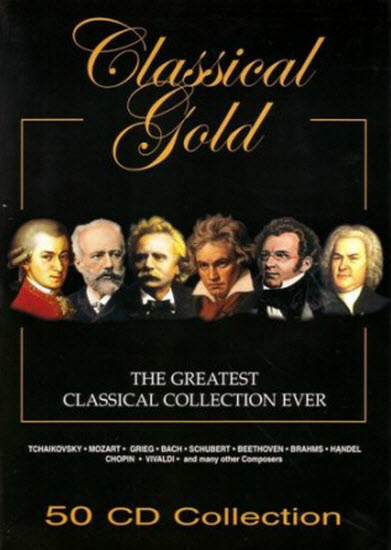 The Greatest Classical Collection Ever Classical Gold 50 CD 2007
