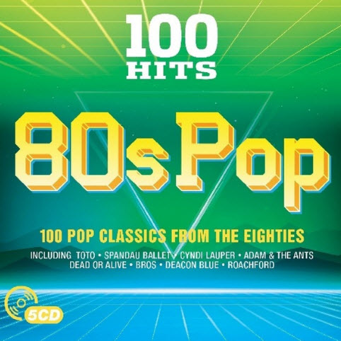 VA 100 Hits 80s Pop 5CD 2017