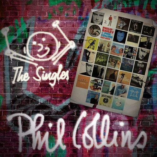 Phil Collins The Singles 2016 3CD Deluxe Edition