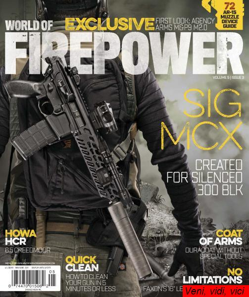 World of Firepower May June 2017