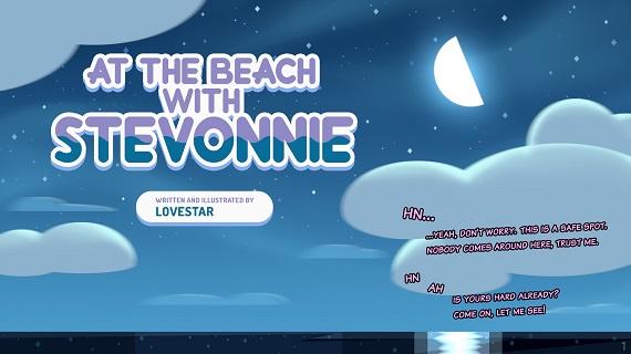 LoveStar - At the Beach With Stevonnie
