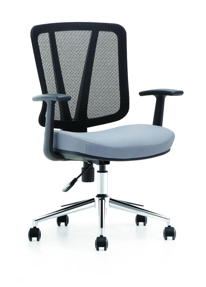 ergonomisch b rostuhl blau schwarz schreibtischstuhl. Black Bedroom Furniture Sets. Home Design Ideas