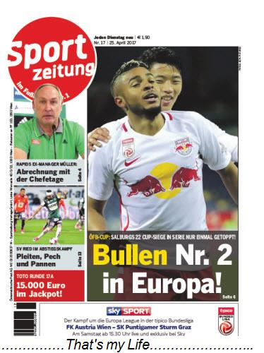 Sportzeitung Nr 17 25 April 2017