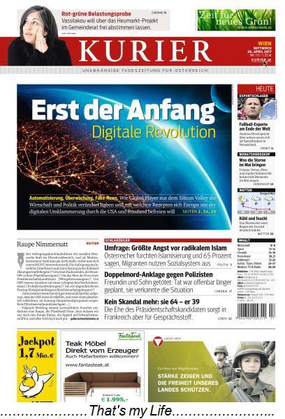Kurier 26 April 2017