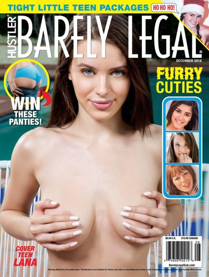 Barely Legal December 2016 Cover