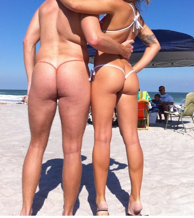 Schwimmbad string tanga Dubio Bikinis