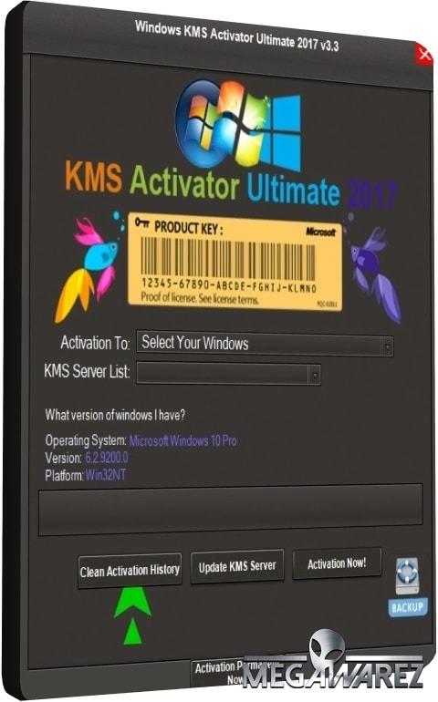 Windows Kms Activator Ultimate 2017 V3.3