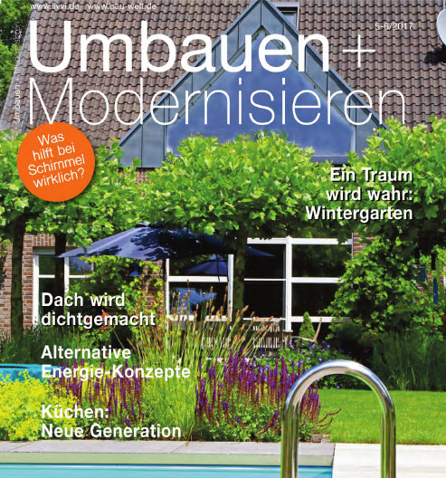 umbauen und modernisieren magazin jahresthema 2017. Black Bedroom Furniture Sets. Home Design Ideas