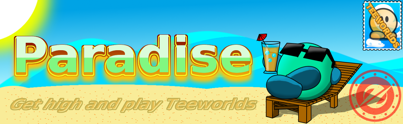 Paradise Teeworlds