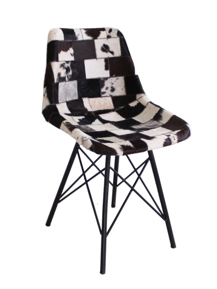 stuhl sit chairs kuhfell patchwork tresenstuhl stuhl hocker barstuhl ebay. Black Bedroom Furniture Sets. Home Design Ideas