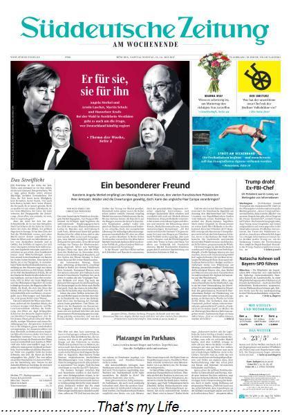 Sueddeutsche Zeitung 13 14 Mai 2017