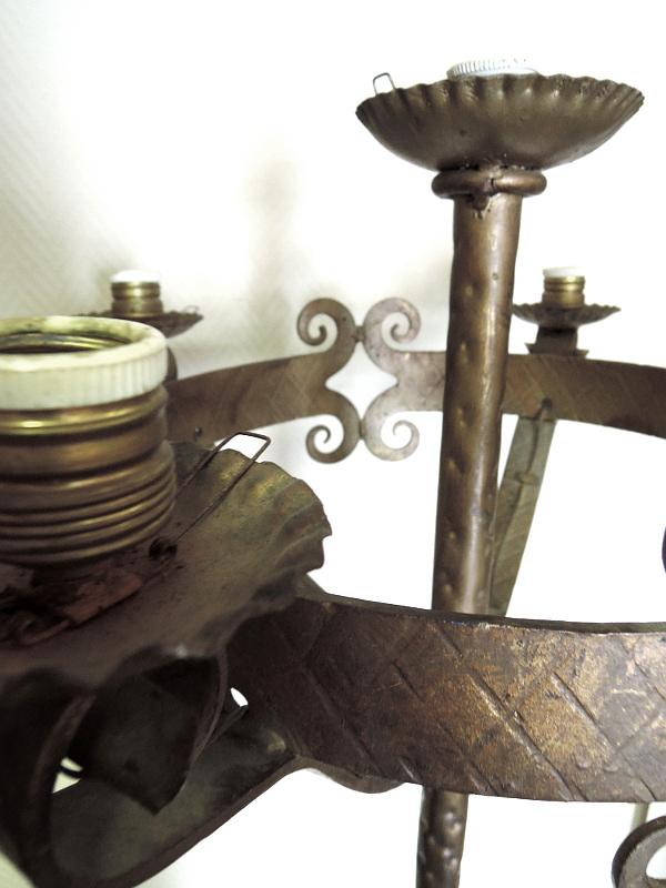 Imposante stehlampe jugendstil barock antik stehleuchte for Kronleuchter stehlampe