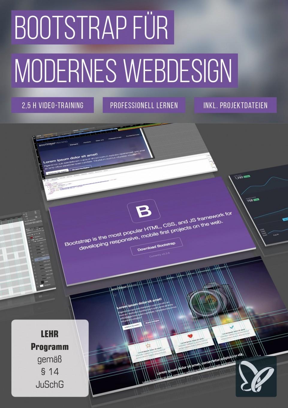download PSD.Tutorials.Bootstrap.fuer.modernes.Webdesign.German-BLZiSO