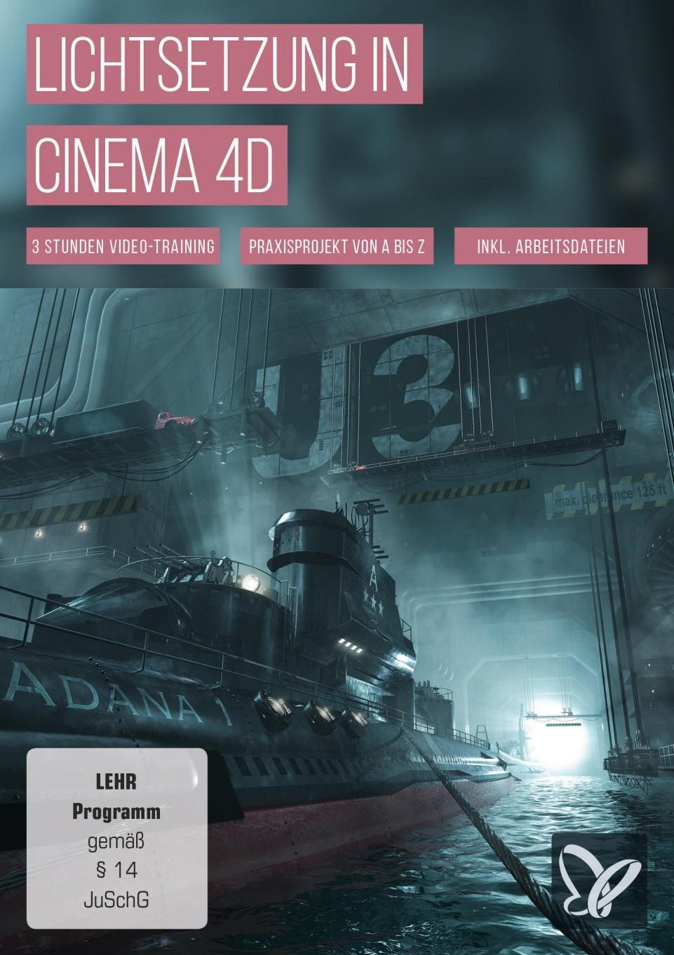 download PSD.Tutorials.Lichtsetzung.in.Cinema.4D.German-BLZiSO