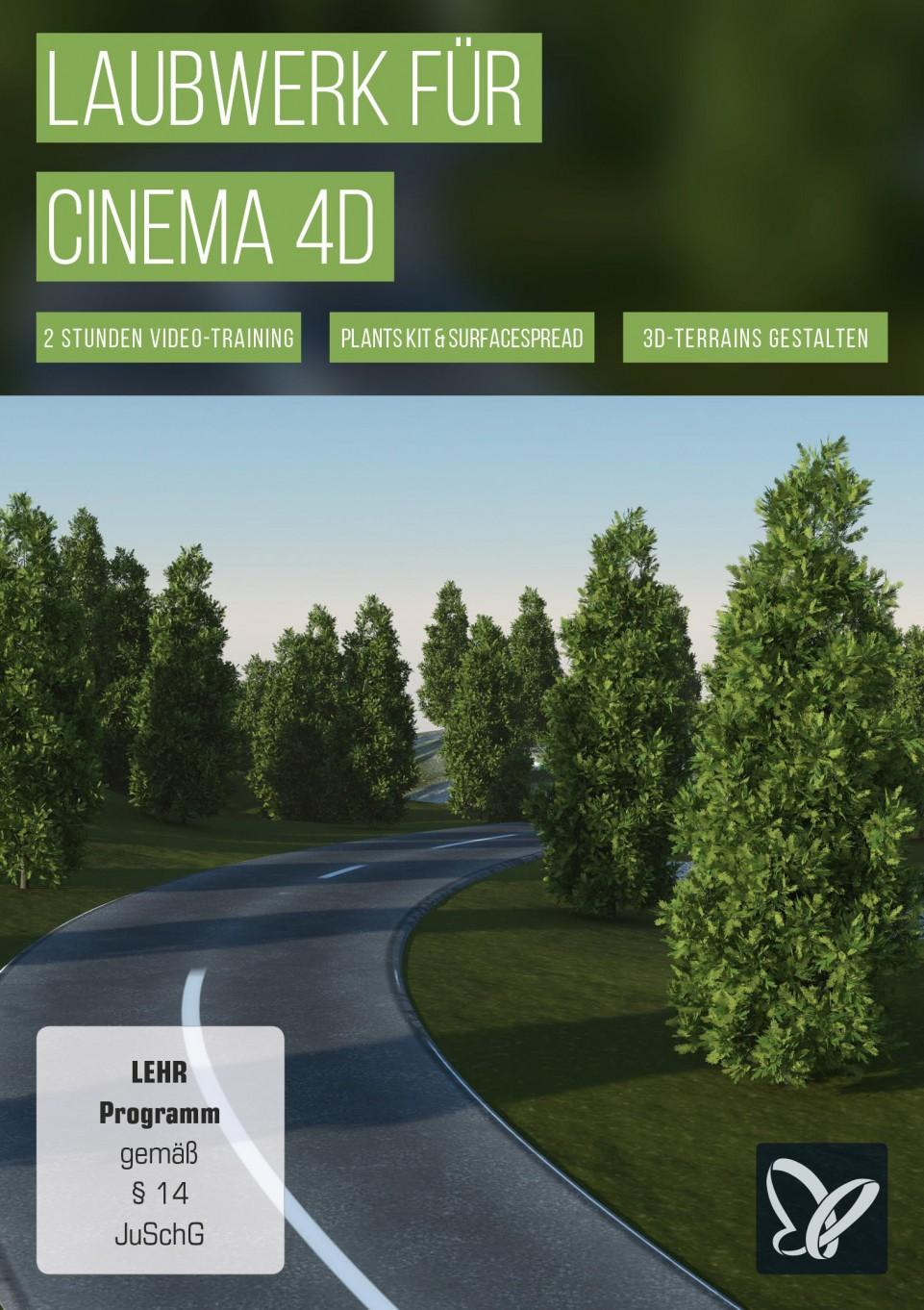 download PSD.Tutorials.Laubwerk.fuer.Cinema.4D.German-BLZiSO