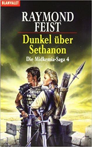 Buch Cover für Dunkel über Sethanon. Die Midkemia-Saga 04