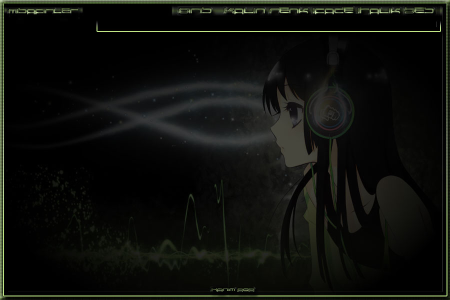 Anime Yeşil Bayan Tema, 2017 Flatcast Temalar ,HaNıM aGa