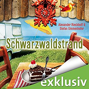 Hörbuch Cover für Schwarzwaldstrand Ein Fall für Hubertus Hummel 10