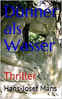 Buch Cover für Dünner als Wasser: Thriller