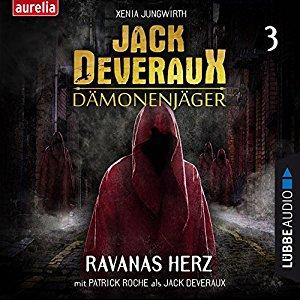 Hörbuch Cover für Ravanas Herz Jack Deveraux Dämonenjäger 3