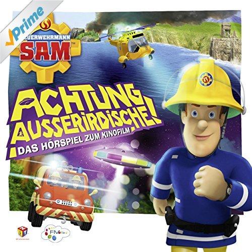 Hörspiel Cover für Achtung Außerirdische (Das Original-Hörspiel zum Film) - Feuerwehrmann Sam