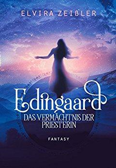 Buch Cover für Edingaard 3 - Das Vermächtnis der Priesterin: Fantasy Liebesroman