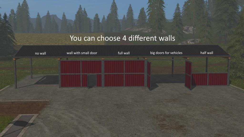Platzierbare slow config halle mods modportal for Wandfarben simulator